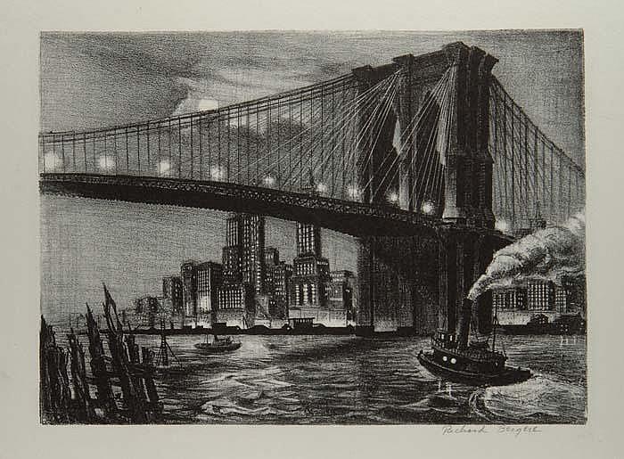 RICHARD BERGERE (American, 1912)