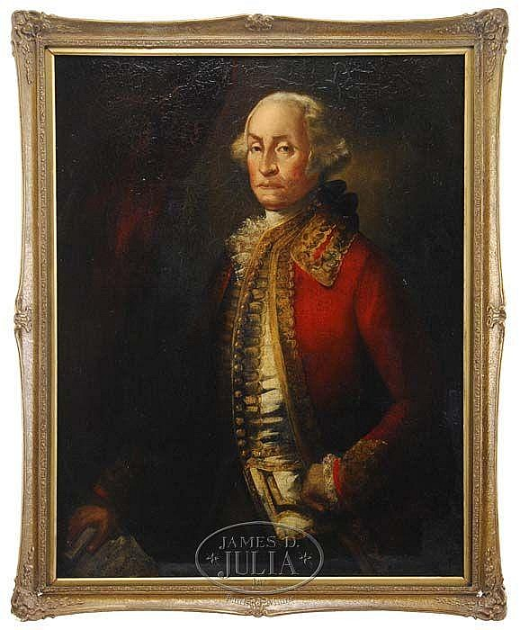 JOHN TRUMBULL (American 1756-1843) PORTRAIT