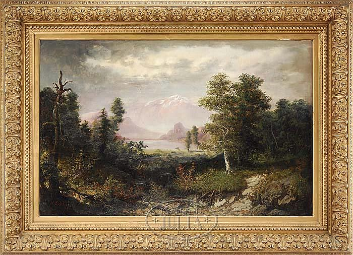 HENRY BOESE (American 1824-1863) PANORAMIC