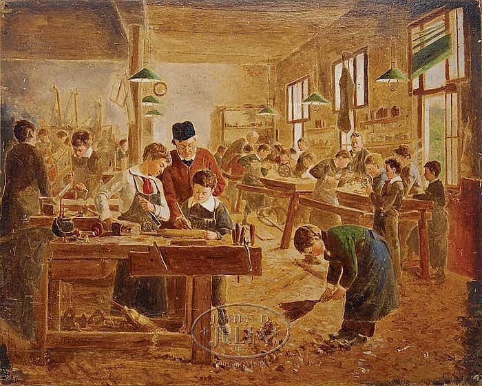 AUGUSTE JOSEPH TRUPHEME (French 1836-1898)