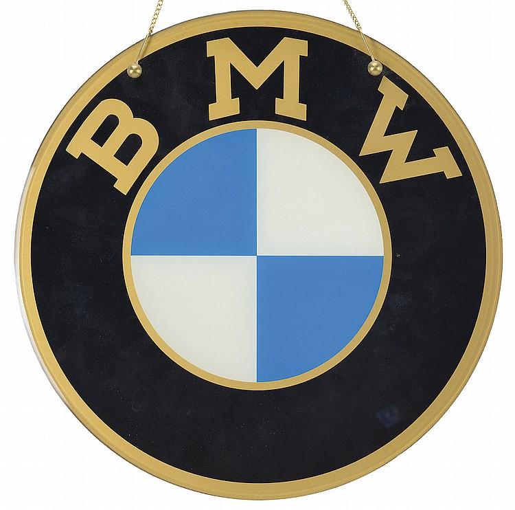 Sold Price Lot Of 4 Bavarian Motor Works Bmw Signs November 5 0114 10 00 Am Est