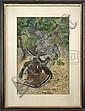 LYNN BOGUE HUNT (American, 1878-1960) RUFFLED GROUSE., Lynn Bogue Hunt, Click for value
