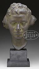 ULYSSES ANTHONY RICCI (American, 1888-1960) WOMAN'S BUST.