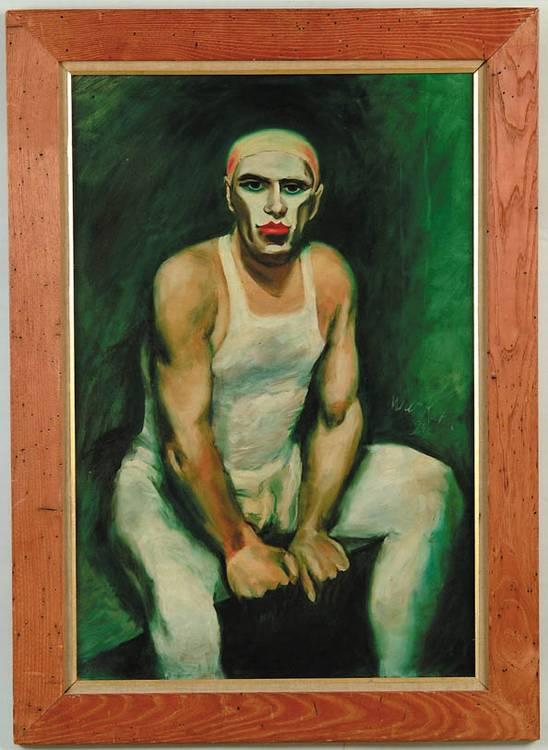 WALT KUHN (American, 1880-1949) CLOWN