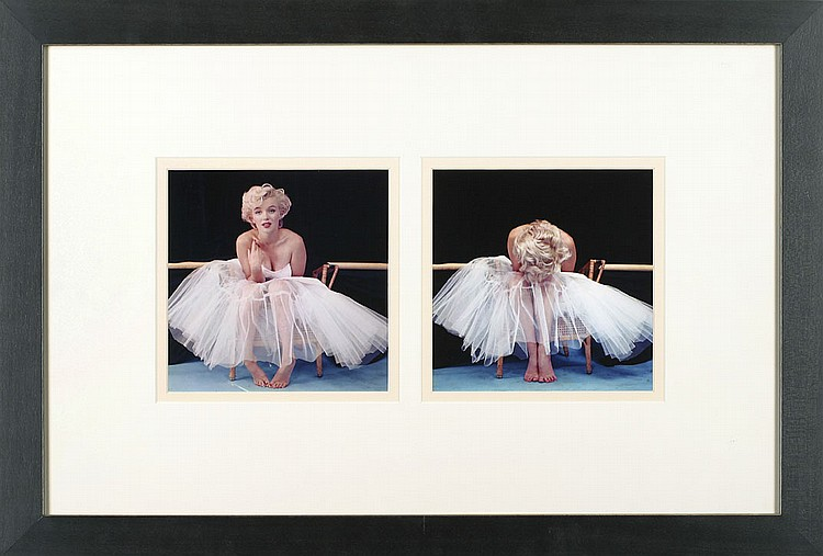 MARILYN MONROE PHOTOGRAPHS BY MILTON GREENE