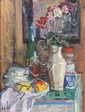GROUP OF THREE FLORAL STILL LIFE PAINTINGS