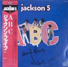MICHAEL JACKSON SIGNED AND INSCRIBED ALBUM
