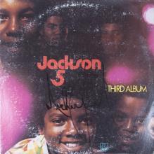 MICHAEL JACKSON SIGNED THIRD ALBUM