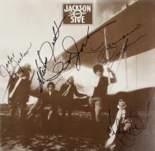 JACKSON 5 SIGNED ALBUM