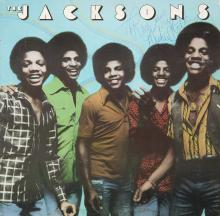 MICHAEL JACKSON SIGNED THE JACKSONS ALBUM