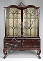 CHIPPENDALE STYLE CHINA CABINET