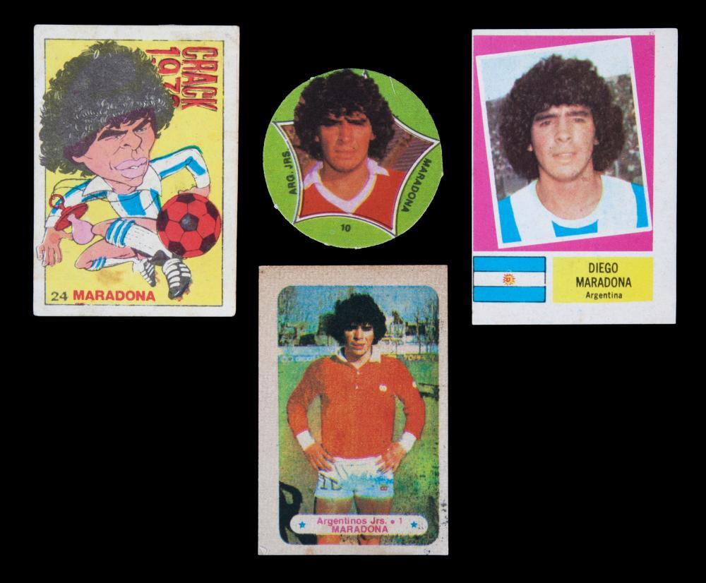 Diego Maradona Rookie Cards