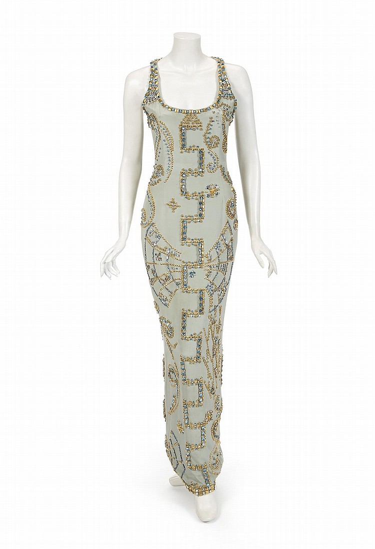 HRH PRINCESS DIANA VERSACE PORTRAIT GOWN AND MAGAZINE
