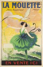 EARLY 20TH CENTURY POSTER FOR LA MOUETTE