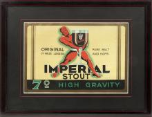 EARLY 20TH CENTURY IMPERIAL STOUT POSTER