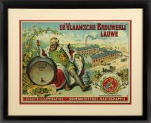 LATE 19TH CENTURY POSTER FOR