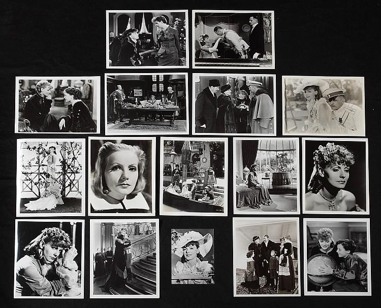 GRETA GARBO GROUP OF FILM STILLS