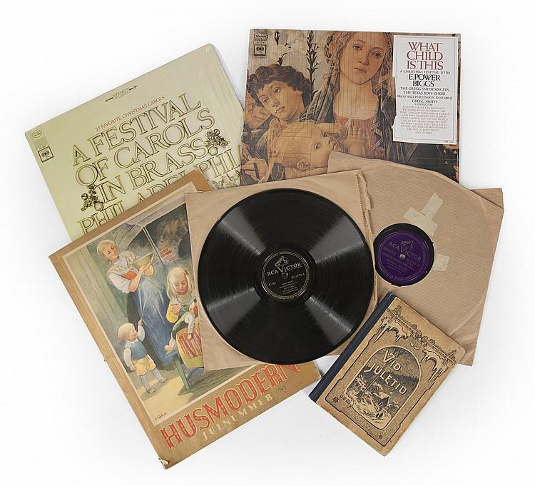 GRETA GARBO CHRISTMAS BOOKS AND ALBUMS
