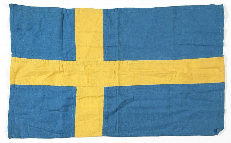 GRETA GARBO SWEDISH FLAG PLACEMAT