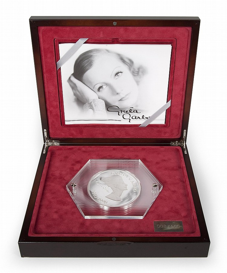 GRETA GARBO COMMEMORATIVE COIN