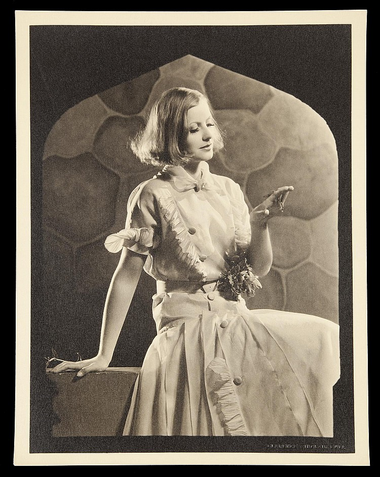 GRETA GARBO IN AS YOU DESIRE ME BY CLARENCE SINCLAIR BULL