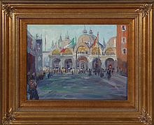 JONATHAN WINTERS PAINTING OF VENICE