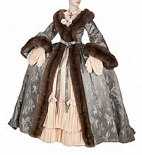 NORMA SHEARER MARIE ANTOINETTE DRESSING GOWN