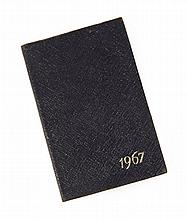 GRETA GARBO 1967 DATE BOOK