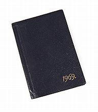 GRETA GARBO 1969 DATE BOOK