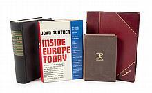GRETA GARBO MARKED OR INSCRIBED BOOKS