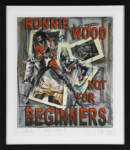 RON WOOD (BRITISH, B. 1947)