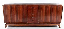 ART DECO SIDEBOARD 5 CENTRAL DRAWERS CABINET