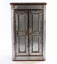 POLISHED AND CAST IRON CABINET CIRCA 1920