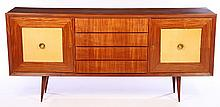 MID CENTURY SIDEBOARD 4 DRAWERS 1960