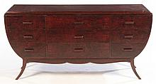 MID CENTURY 9 DRAWER CHEST GROFELD HOUSE 1960