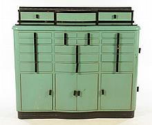 DENTAL CABINET MULTIPLE DRAWERS 4 DOOR 1910