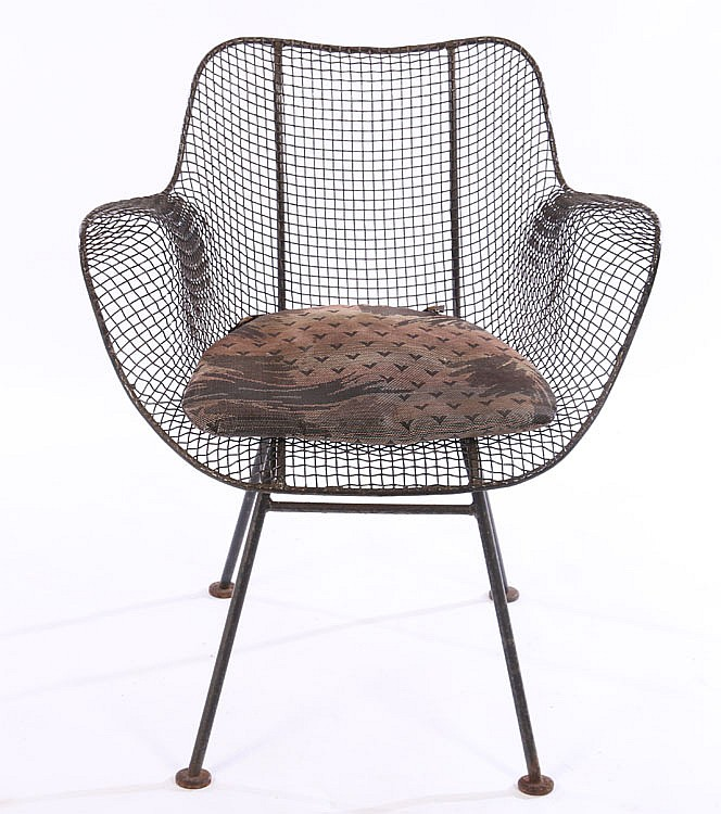 3 Pc Set Woodard Wrought Iron Garden Furniture
