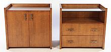 A PAIR OF SIMILAR CABINETS