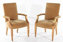 PAIR OF ANDRE ARBUS STYLE ARM CHAIRS