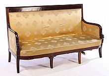 A 19TH CENTURY FRENCH RESTORATION SETTEE