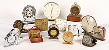 GROUP OF 15 WIND UPS LUX WANAMAKER JUNGHANS