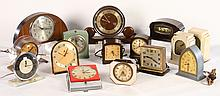 GROUP OF 15 ART DECO ELECTRICAL CLOCKS 1930-1940
