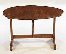 19TH CENT. FRENCH TILT TOP WINE TASTING TABLE