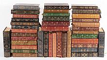 COLLECTION FRANKLIN LIBRARY LEATHER BOUND BOOKS