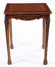 ART NOUVEAU GAMES TABLE CHECKERBOARD TOP C. 1920