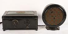 EARLY ATWATER KENT RADIO WITH ORIGINAL SPEAKER