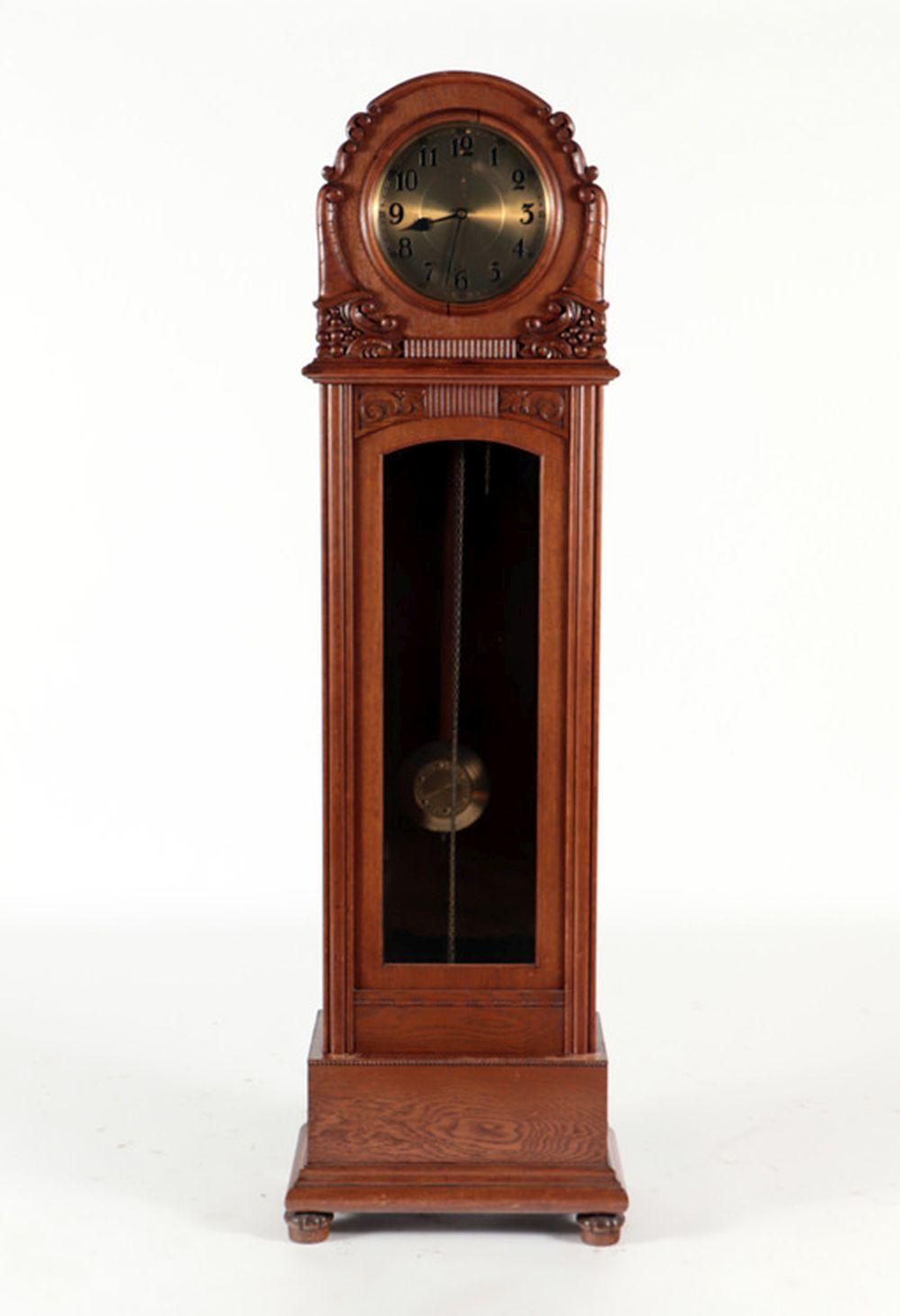 GERMAN HANS WINTERHALDER GRANDFATHER CLOCK C.1920