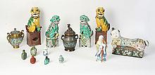 LOT OF 14 19TH TO 20TH C. ASIAN ITEMS