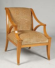 SYCAMORE ARMCHAIR MANNER OF JACQUE QUINET