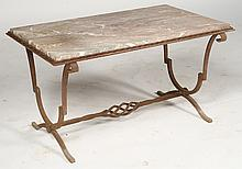 FRENCH RAYMOND SUBES COFFEE TABLE C.1940
